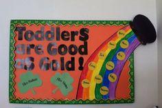 St. Patricks day bulletin board