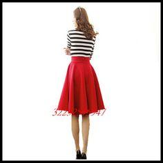 Dress Skirt, Skater Skirt, Umbrella Skirt, Embroidery Dress, Autumn, Retro, Womens Fashion, Skirts, Dresses