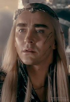 Day 29th- this was hard, because I think Lee is great in everything, but Thranduil is epic and stunning! Just look at that face!!!