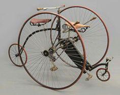 1888 Rudge Traveler tandem...