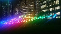 Lights shaped flowers. No filter. Canary Wharf #colours #colori #50shades #rainbow #lights #lucicolorate #canarywharf #londonlifestyle #london #mybelnder by istricesagace
