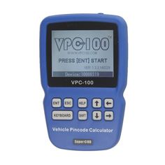 VPC-100 Hand-Held Vehicle IMMO Key Pin Code Calculator VPC100 With 500 Tokens Update Online #Affiliate
