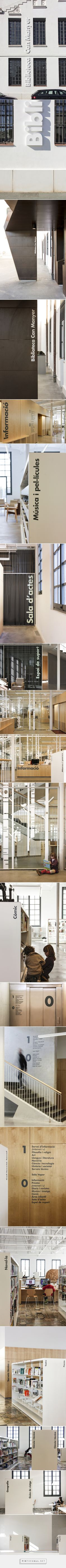 Biblioteca Can Manyer | PFP, disseny gràfic - created via https://pinthemall.net