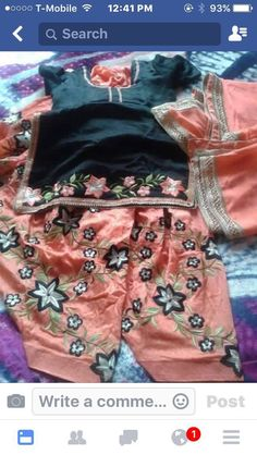 Salwar Suits Party Wear, Embroidery Suits, Punjabi Suits, Indian Dresses, How To Make, How To Wear, Skirts, Pink, Collection