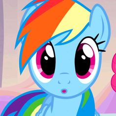 Me when I see something I love lol, like my little pony! :)