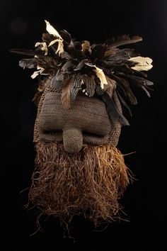 "Mask ""idangani"" from the Salampasu people of DR Congo 