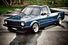 '80 VW Caddy Pickup