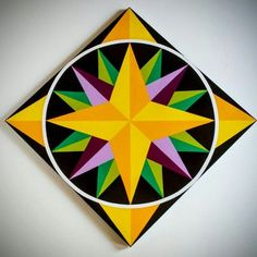 Barn Quilt Designs, Barn Quilt Patterns, Quilting Designs, Deck Patterns, Star Quilts, Quilt Blocks, Painted Barn Quilts, Mariners Compass, Barn Wood Signs
