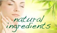Natural ingredients used in these skincare products