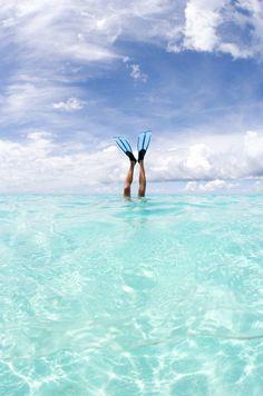 scuba diving in Aruba #aioutlet