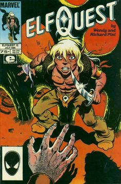 This was the first #Elfquest comic I owned.  www.elfquest.com