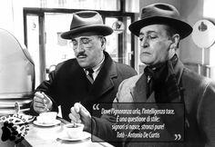 """Poche """"principesche"""" parole: la sintesi della verità... """"Dove l'ignoranza urla, l'intelligenza tace. È una questione di stile: signori si nasce, stronzi pure!"""" Totò, Antonio De Curtis #Totò, #AntonioDeCurtis, #ignoranza, #intelligenza,"""