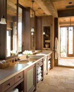 Dream #bathroom remodels - www.remodelworks.com