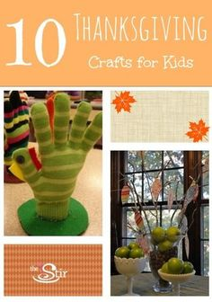 These are actually all really easy! Finally! 10 Thanksgiving Crafts from Moms Who DIY http://thestir.cafemom.com/toddler/112504/10_Thanksgiving_Crafts_from_Moms?utm_medium=sm&utm_source=pinterest&utm_content=thestir
