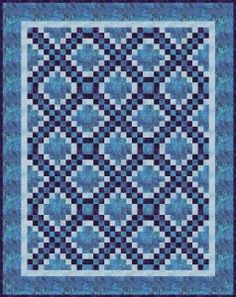 Triple Irish Chain Quilt And Other Lovely Designs Along With Variations On Basic