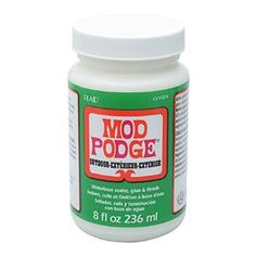 Outdoor Mod Podge - good for painting rocks