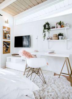 Room Ideas Bedroom, Teen Room Decor, Home Decor Bedroom, Bedroom Inspo, Dream Bedroom, Bedroom Ideas For Teens, Ikea Room Ideas, Bedroom Furniture, Modern Room Decor