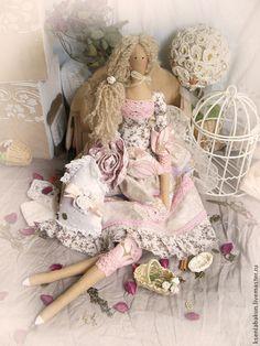 Куклы Тильды ручной работы. Ярмарка Мастеров - ручная работа Тильда Адель. Интерьерная кукла. Handmade.