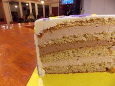 Fondant torta presjek