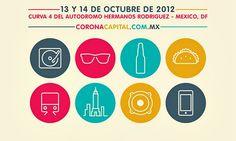Distribución de bandas por día, Corona Capital 2012