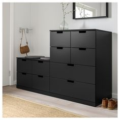 IKEA offers everything from living room furniture to mattresses and bedroom furniture so that you can design your life at home. Check out our furniture and home furnishings! Painted Drawers, Dresser Drawers, Chest Of Drawers, Shabby Chic Furniture, Bedroom Furniture, Furniture Design, Bedroom Decor, Nordli Ikea, Ikea Family