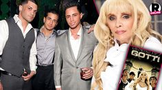 Victoria Gotti and Her Sons