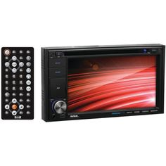 SOUNDSTORM DD662B 6.2 Double-DIN In-Dash Touchscreen Multimedia Player (Bluetooth(R)-Enabled)
