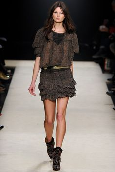 Isabel Marant Fall 2012 Ready-to-Wear Fashion Show Collection