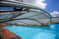 look from under the pool enclosure Swimming Pool Enclosures, Swimming Pools, Swiming Pool, Pools, Pool Enclosures