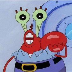 Weird Mr Krabs Faces 10