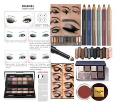 """Smoky look"" by chorouk-cherqaoui ❤ liked on Polyvore featuring beauty, Chanel, Urban Decay, Estée Lauder, Surratt, By Terry, Bobbi Brown Cosmetics and Tom Ford"