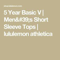 5 Year Basic V | Men's Short Sleeve Tops | lululemon athletica