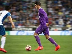 Real Madrid's Florentino Perez: 'No bid from Manchester United for Alvaro Morata'
