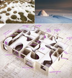 "El departamento ""de nieve"" / Penda The Snow Apartment / penda – Plataforma Arquitectura"