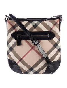 6cdd3deaf9a0  The RealReal -  Burberry Burberry Nova Check Crossbody Bag - AdoreWe.com
