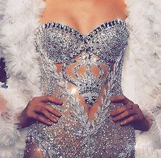 Couture bling lux dress