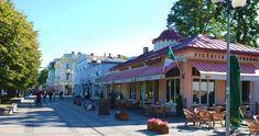 jurmala photos - Jomas Street - Jurmala's broadway - famous Jurmala architecture - Art Nouveau in wooden architecture - jurmala pictures