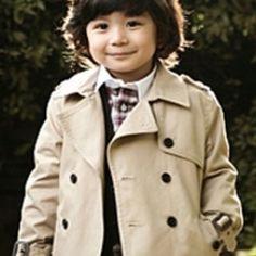 Trench Coat Baby Boy Fashion