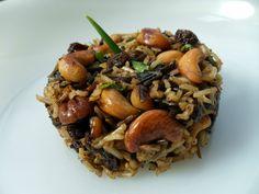 arroz salvaje con frutos secos