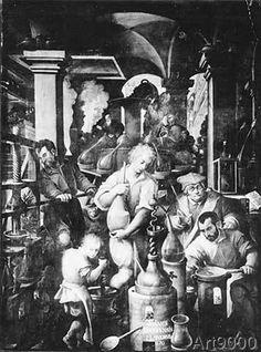 Jan Stradanus - Jan Stradanus, Die Alchemie