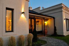 Marcela Parrado Arquitectura Plans Architecture, Architecture Design, Exterior House Colors, Exterior Design, Outdoor Lighting, Outdoor Decor, Lighting Ideas, House Goals, Porch Decorating