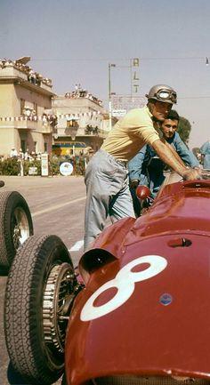 Giorgio Scarlatti, Maserati in the 1957 Pescara Grand Prix (Getty Images). Maserati, Bugatti, Ferrari, Classic Motors, Classic Cars, Grand Prix, Formula 1, Sport Cars, Race Cars