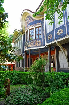The Plovdiv Regional Ethnographic Museum is a museum of ethnography. Since 1938, it has occupied the 1847 house of the rich merchant Argir Kuyumdzhioglu in the city's Old Town. Bulgaria-0742 - Plovdiv Regional Ethnographic Museum