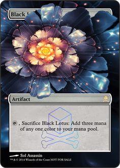 six card lotus