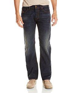1254a6d91c9a Diesel Dark Indigo Men s Larkee Regular Straight Leg Jean 0835h