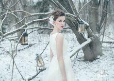 Iris -dress from Revelations. French lace & soft tulle.    Designer Aurora Raiskinen Pic ByMikaelas MUAH Tiina Lamberg Model Riina Hair Accessories Ninka