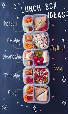 healthy snacks on the go / healthy snacks ; healthy snacks for kids ; healthy snacks on the go ; healthy snacks for work ; healthy snacks to buy ; Lunch Meal Prep, Weekly Meal Prep, Kids Meals, Meal Planning, Food And Drink, Food To Go, Healthy Eating, Breakfast Healthy, Fast Breakfast Ideas