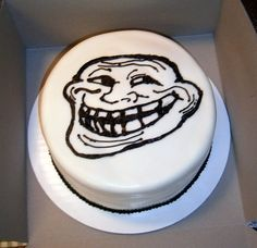 Troll Cake Rainbow colored cake Fondant cover, buttercream sketch