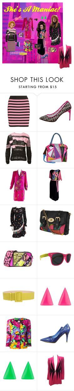 """""""Business Casual, 1980s"""" by funkyjunkygypsy ❤ liked on Polyvore featuring Miu Miu, Jason Wu, Natasha Zinko, Pauric Sweeney, Emanuel Ungaro, Forever 21, Marc Jacobs, FAUSTO PUGLISI, Alexis Bittar and CÉLINE"""