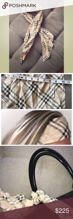 Burberry 100% Silk Scarf Burberry 100% Silk Scarf Burberry Accessories Scarves & Wraps